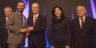 St. George Hotel Receives the Palestine Exporter Award of 2017